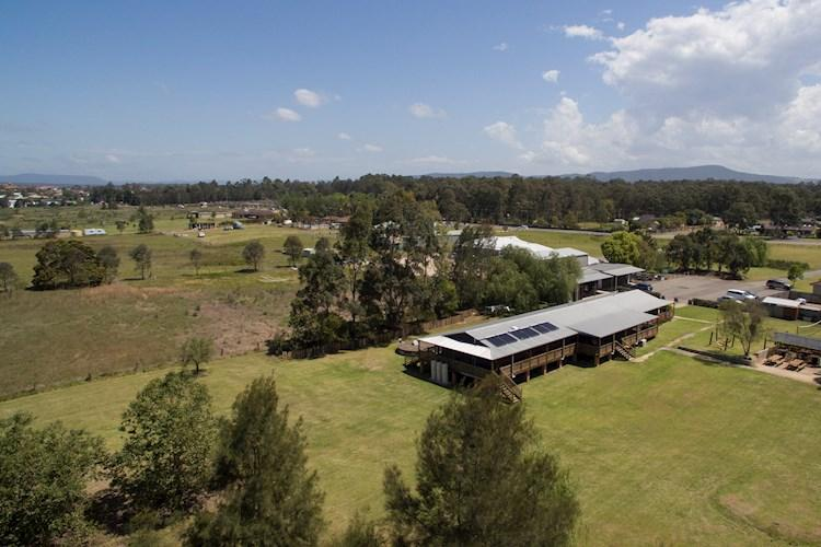 Aerial View - Hunter Valley YHA