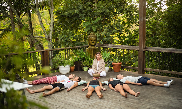 Meditation at Bellingen Belfry Guesthouse YHA - Sydney Best Road Trips