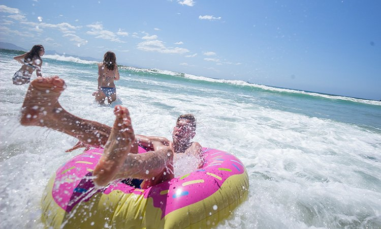 Beach Fun at Port Macquarie YHA- Sydney Best Road Trips