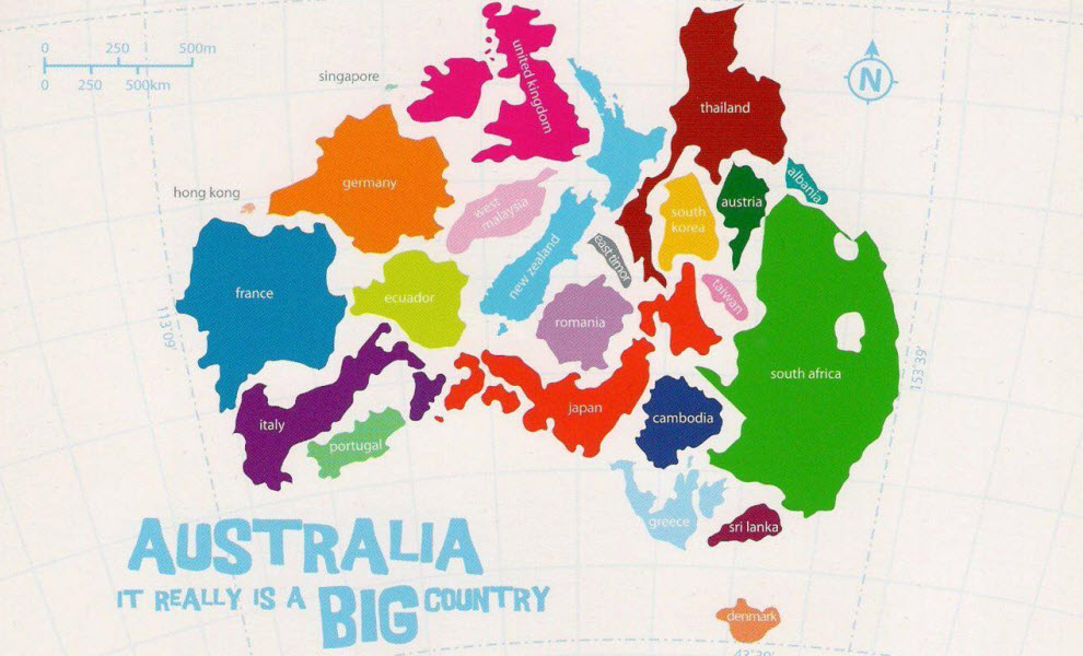 15 Maps That Will Change The Way You See The World | YHA ...