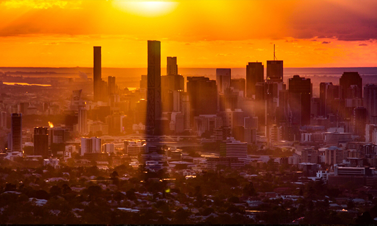 Mount Cootha Sunrise - Brisbane YHA - Image Credit Mike Friederich