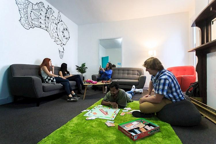 Hobart Central YHA_Lounge Room