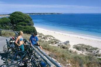 Rottnest Island Ferry Package Including Bike Hire tile image
