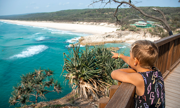 Stradbroke Island Image: Tourism and Events Queensland