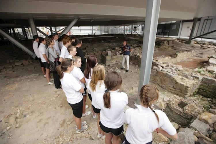 Archaeology in Action - Sydney Harbour YHA