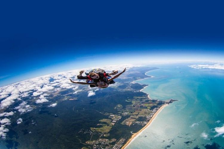 Skydive Mission Beach Freefall