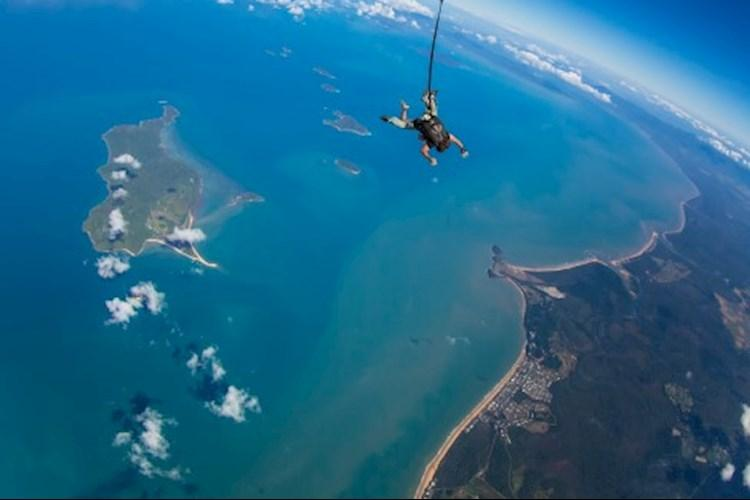 Skydive Mission Beach- Reef to Rainforest Views