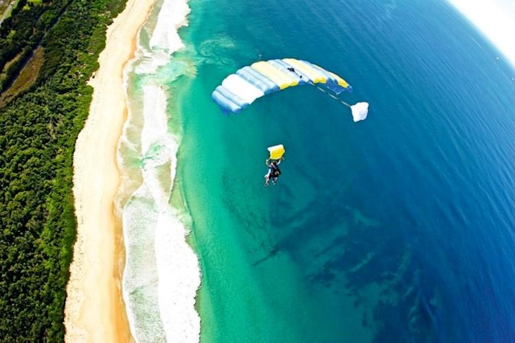 Skydive Mission Beach- Stunning Coastal and Rainforest Views