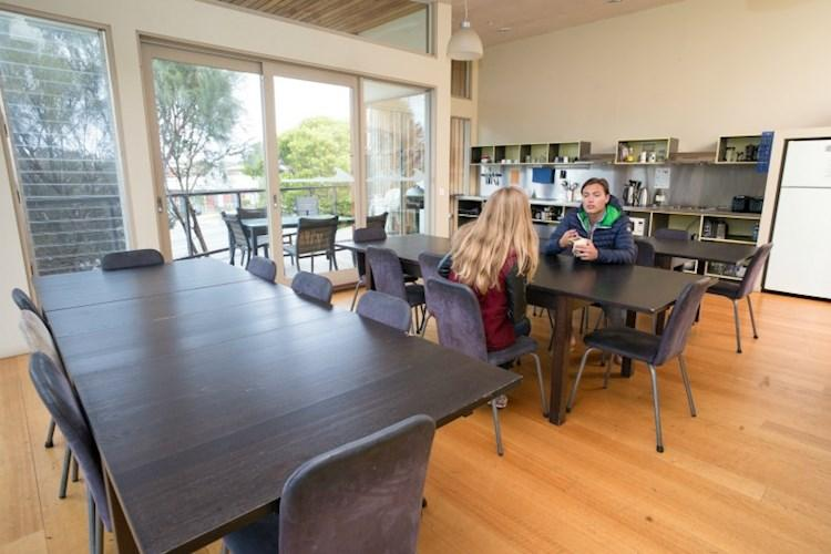Group Dining Room - Apollo Bay Eco YHA