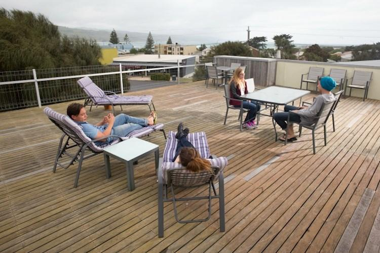 Rooftop Terrace - Apollo Bay Eco YHA