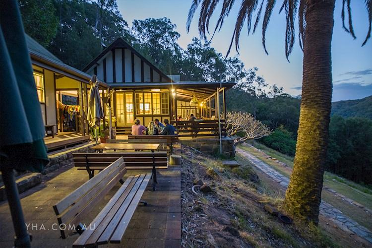 Outdoor Dining at Pittwater YHA