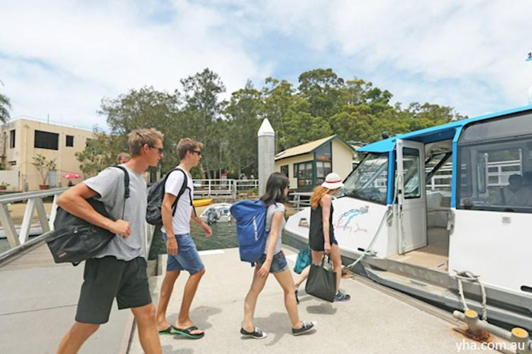 Catch the ferry to Pittwater YHA