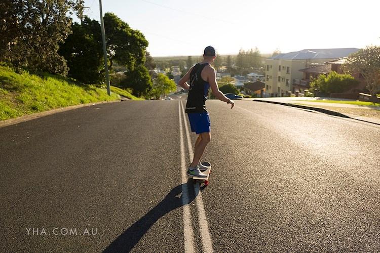 Yamba YHA - Skateboarding