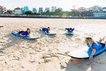 Bondi Beach Surf Lesson tile image