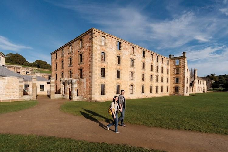 Couple walking at Port Arthur_Port Arthur Historic Site Management Authority.jpg