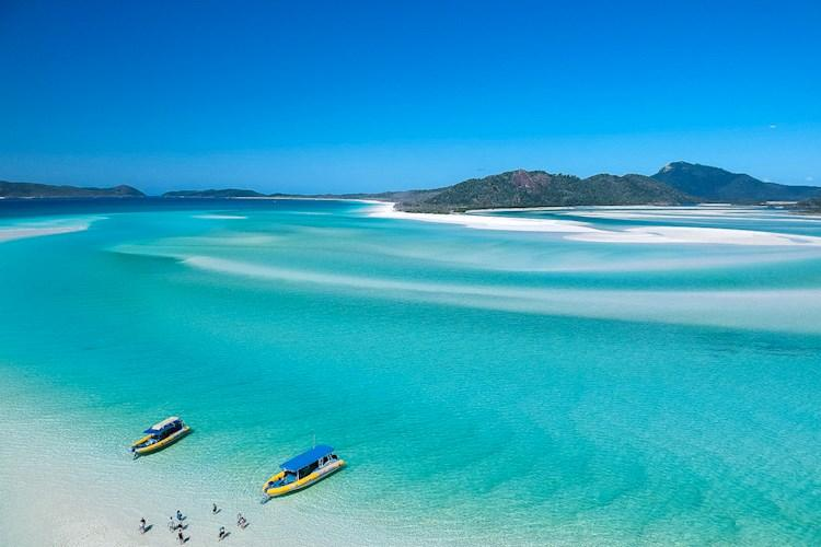 1 Day Whitsundays Tour- Clear waters