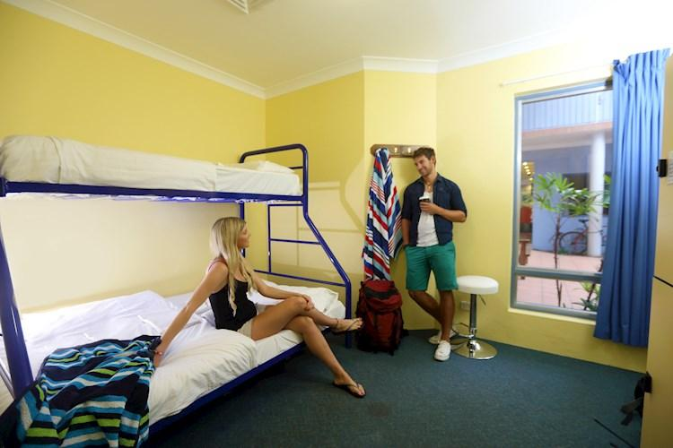 Sydney Beachouse  YHA - Twin room.jpg