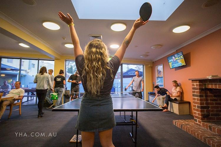 Ping Pong Table - Sydney Beachouse YHA