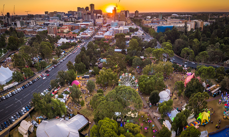 Garden of Unearthly Delights at Adelaide Festival 2020, credit South Australian Tourism Commission, Joshua Pathon