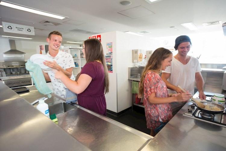 Kitchen Sydney Harbour YHA
