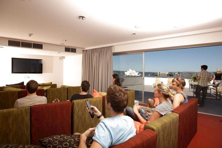 TV Room - Sydney Harbour YHA