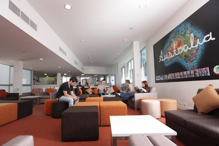 Sydney Harbour YHA Lounge