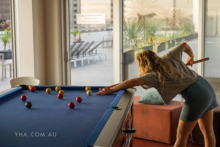 Rooftop Pool Table - Sydney Harbour YHA