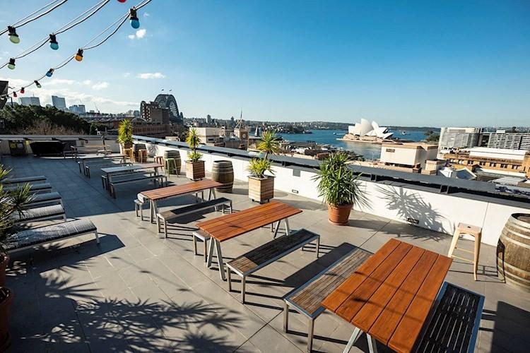 Sydney Harbour YHA - rooftop
