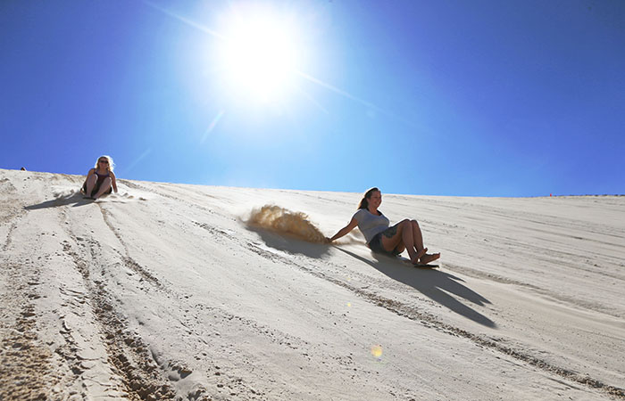Port Stephens Sand boarding