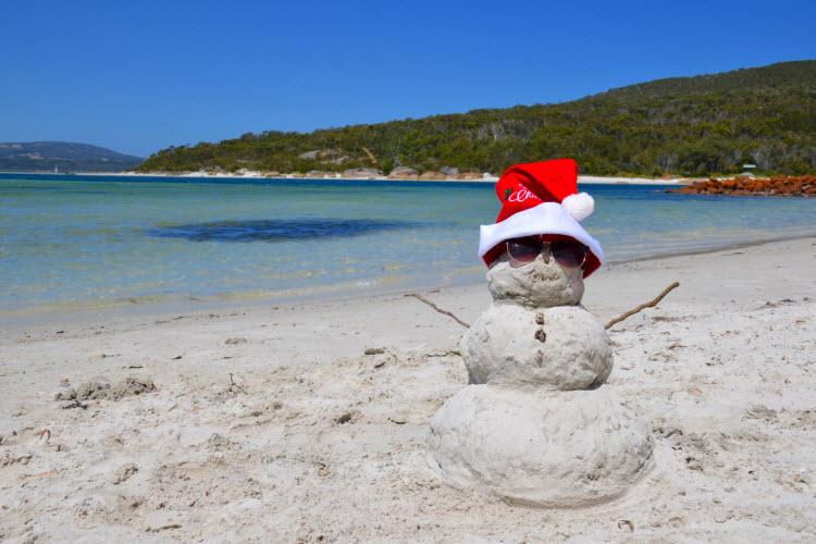 christmas in australia credit pexels