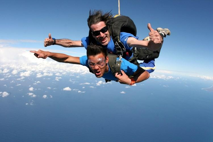 Skydive Byron Bay- Fly Like Superman