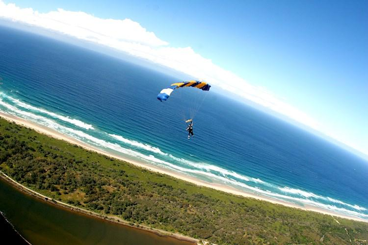 Skydive Byron Bay- Lush Coastal Views