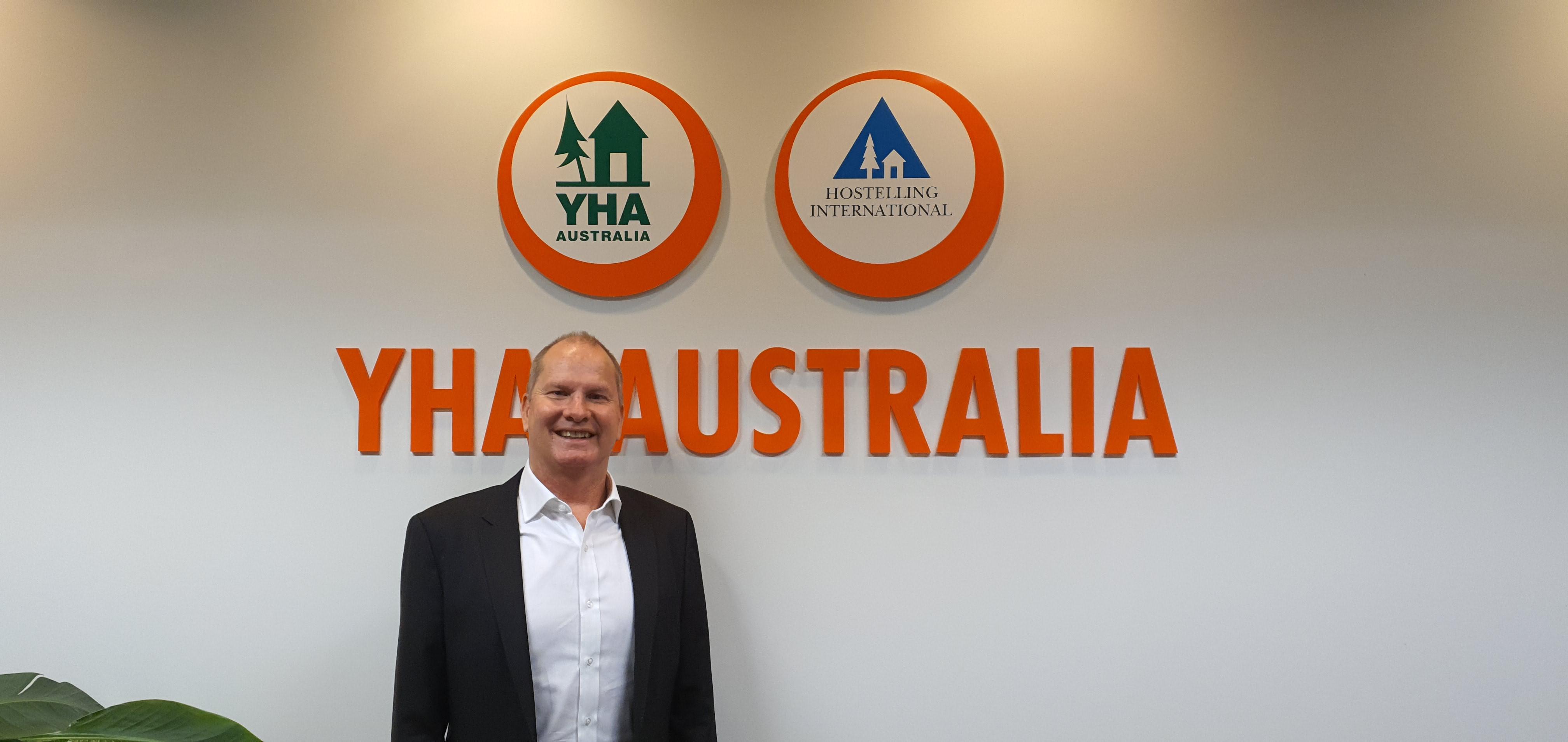 Paul McGrath CEO YHA Australia