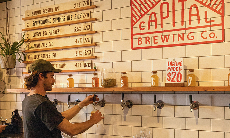 Capital Brewing Craft Beer in Canberra - Things to do in Canberra - Image Tourism Australia