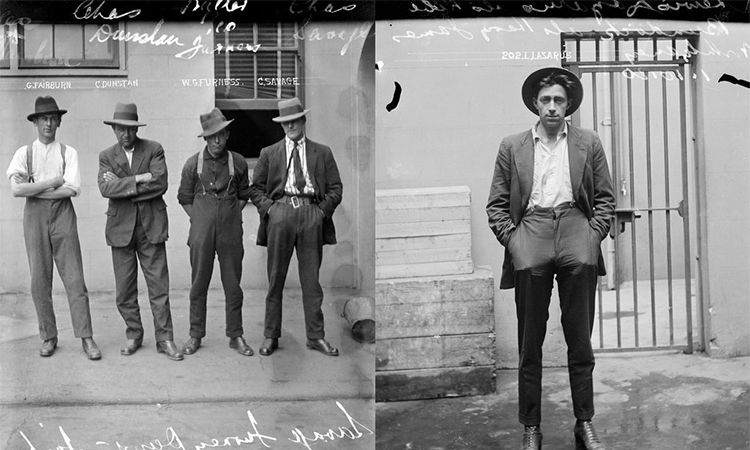 Mugshots from the Roaring 20s