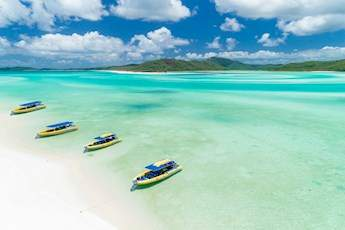 1 Day Whitsunday Fly and Raft Tour tile image
