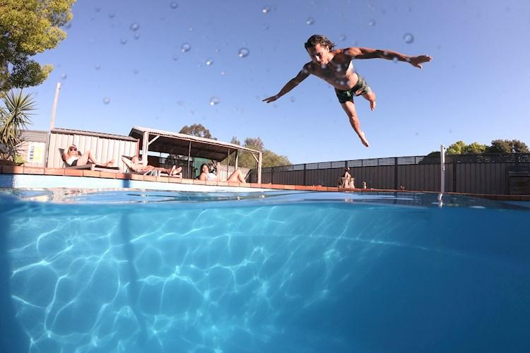 Hunter Valley YHA - outdoor pool