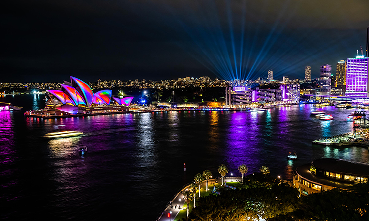 Darling Harbour Vivid 2019