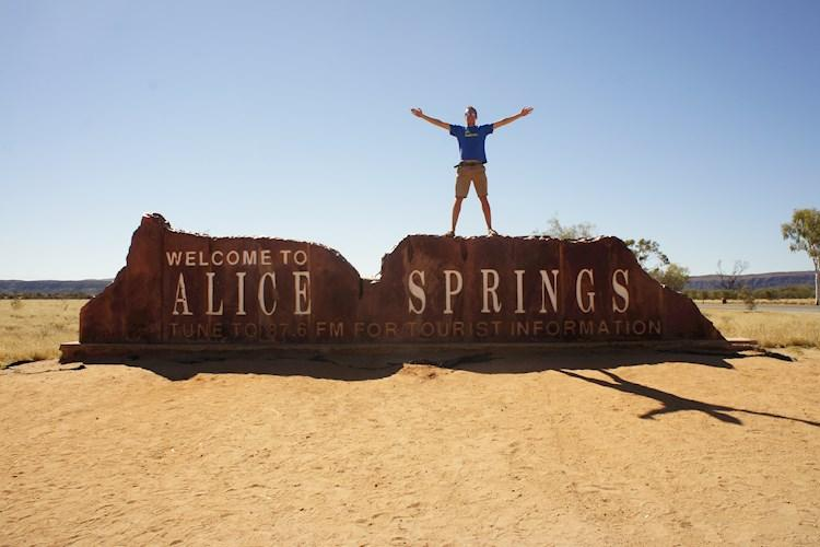 Uluru Day Tour From Alice Springs- Welcome to Alice Springs