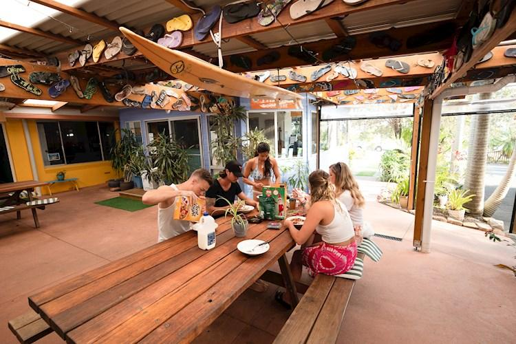 Port Macquarie YHA - Dining