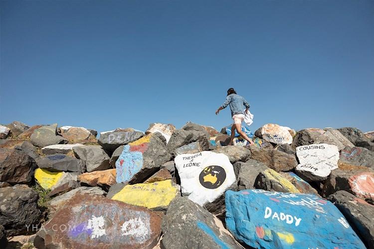 Port Macquarie YHA - Painted Rocks