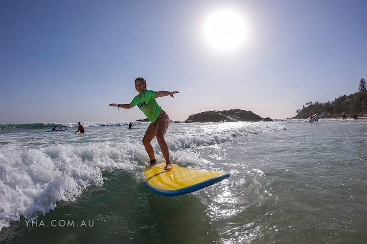 Port Macquarie YHA - Surfing