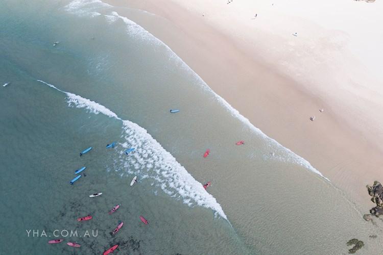 Cape Byron YHA - Surf Lessons