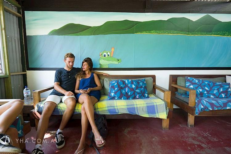 Port Douglas YHA - Outdoor Common Area (2)