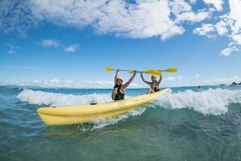 Byron Bay Dolphin Kayaking tile image