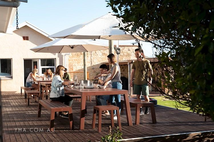 Port Elliot YHA - Deck