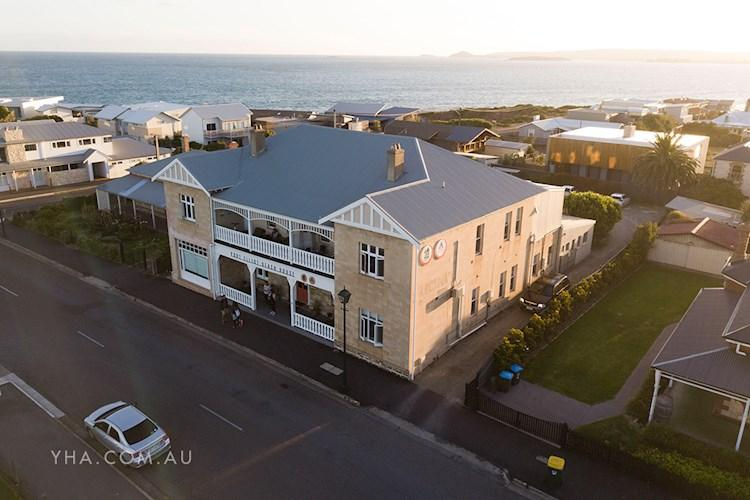Port Elliott YHA - Drone Exterior