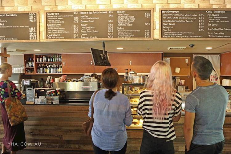 Sydney Central YHA - Cafe Ordering