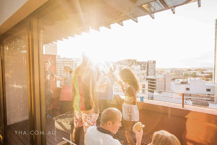 Sydney Central YHA - Rooftop Hangs