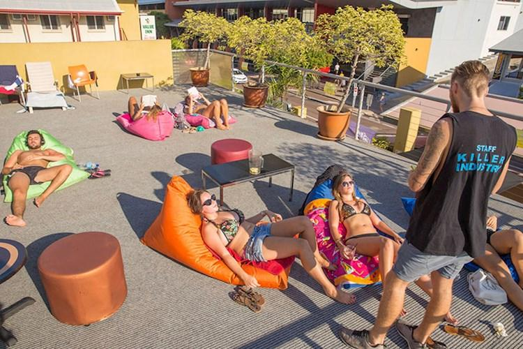Darwin YHA - Rooftop Area